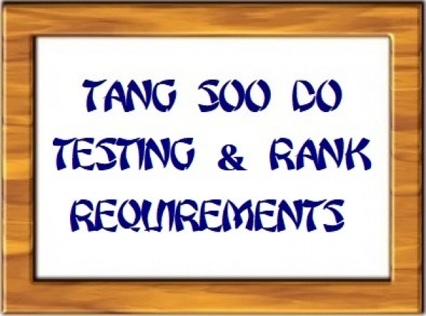 gallery/tsd - testing and rank requirement picture