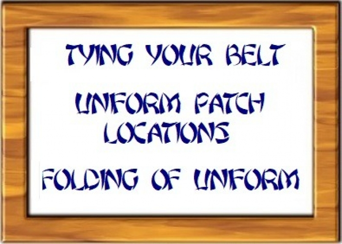 gallery/tsd - tying belt -patch - folding uniform picture